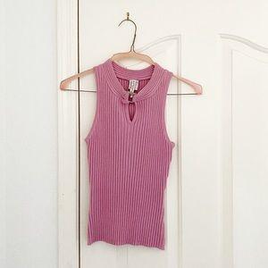 HeartSoul Pink Sleeveless Knit Top